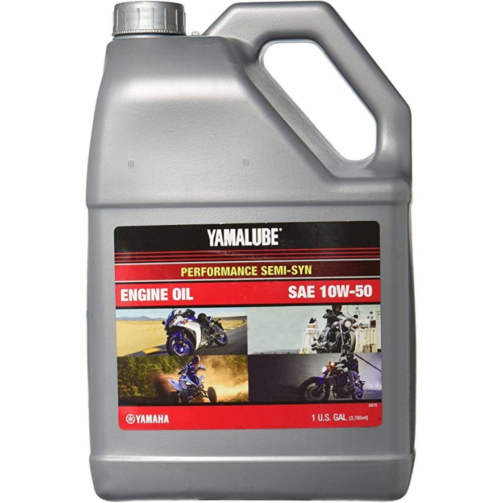 Моторное масло YAMAHA Yamalube 10W-50, 3.78л