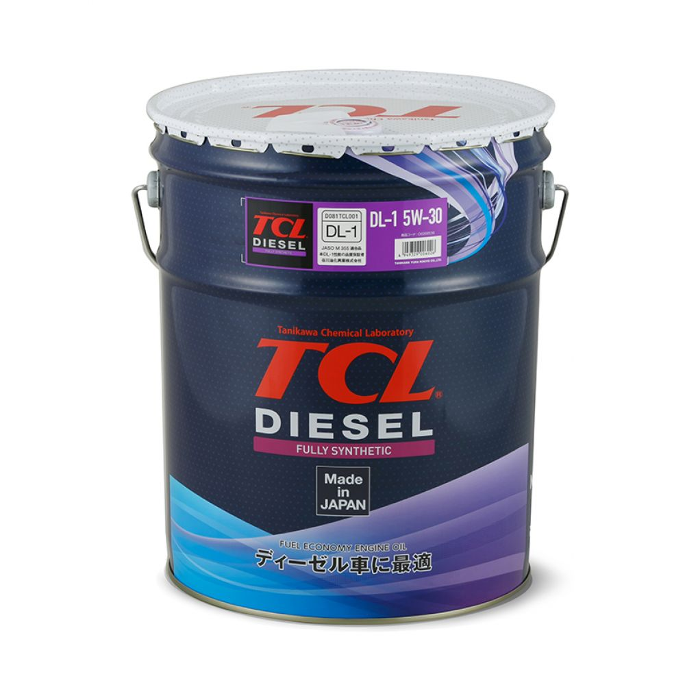 Моторное масло TCL Diesel Fully Synth DL-1, 5W-30, 20л