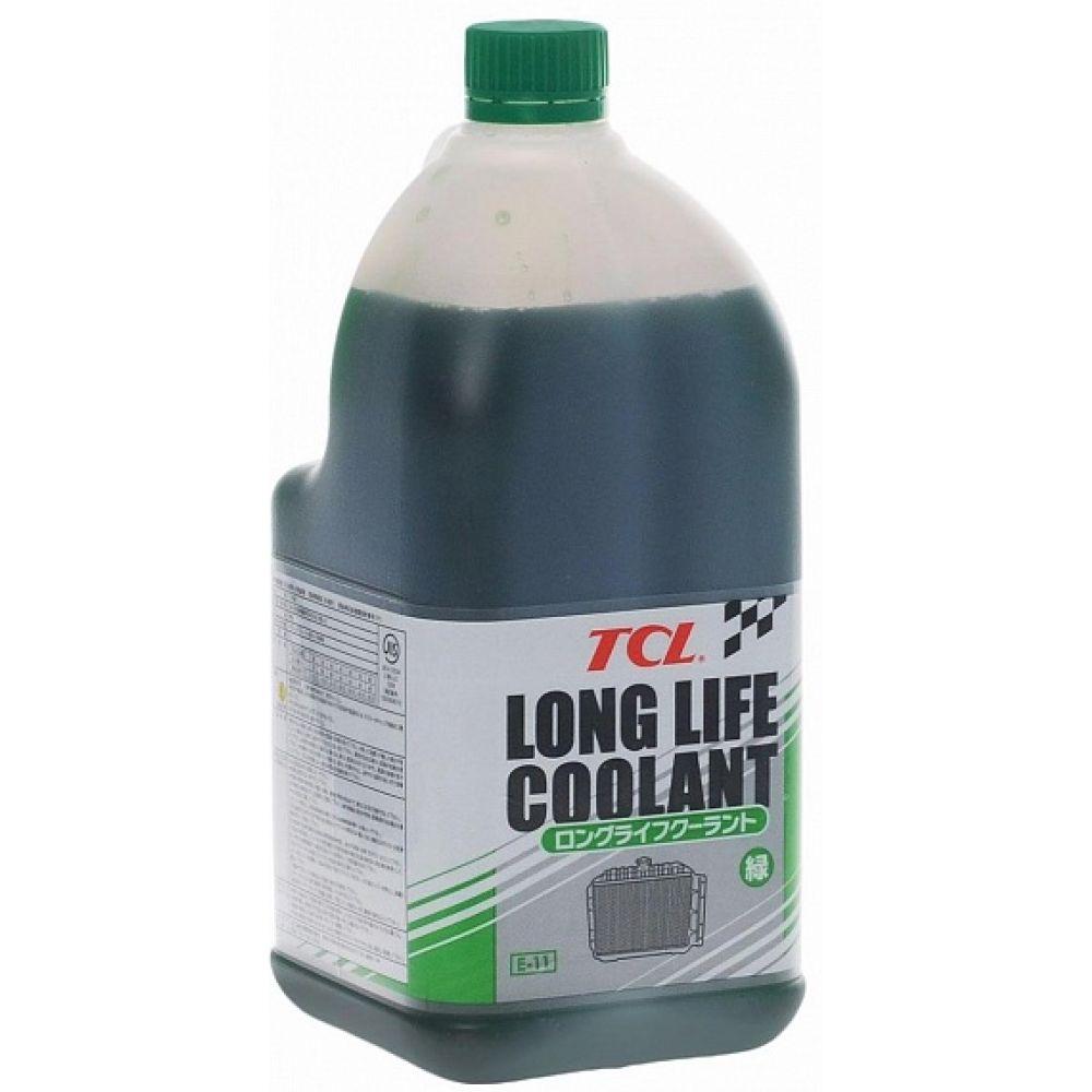 Антифриз концентрат TCL Long Life Coolant GREEN, 2л