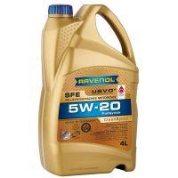 Моторное масло RAVENOL Super Fuel Economy SFE SAE 5W-20, 4л