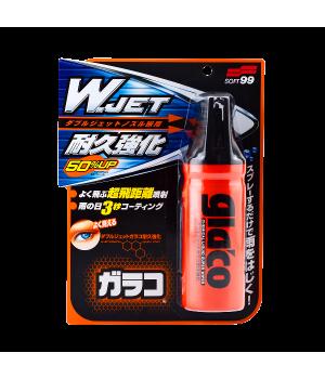 """Антидождь Glaco """"W"""" Jet Strong для стекол, 180мл"""