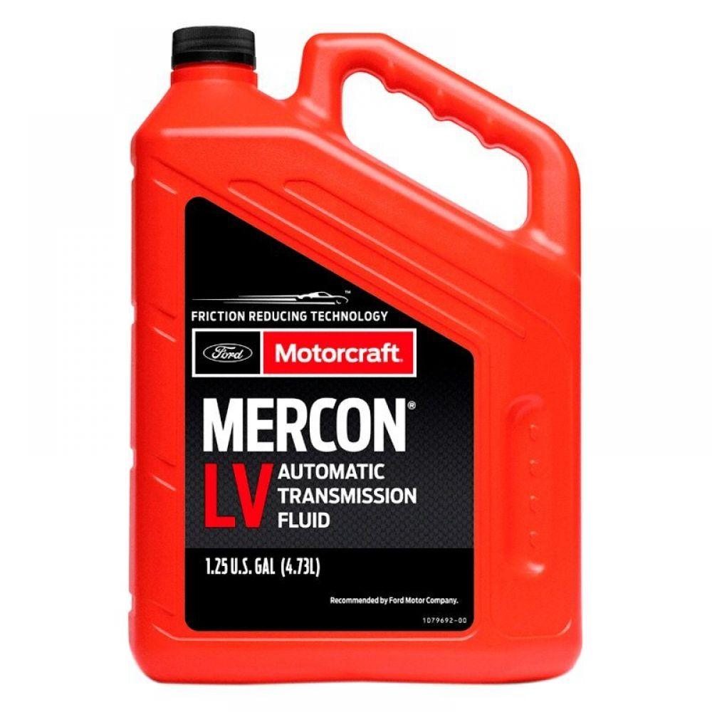 Трансмиссионное масло Ford Motorcraft ATF Mercon LV, 4.73л