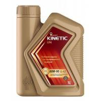 Трансмиссионное масло Rosneft Kinetic UN 80W-90 GL-4/5, 1л
