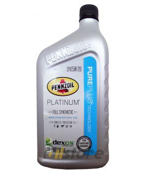 Моторное масло PENNZOIL Platinum SAE 5W-20, 0,946л