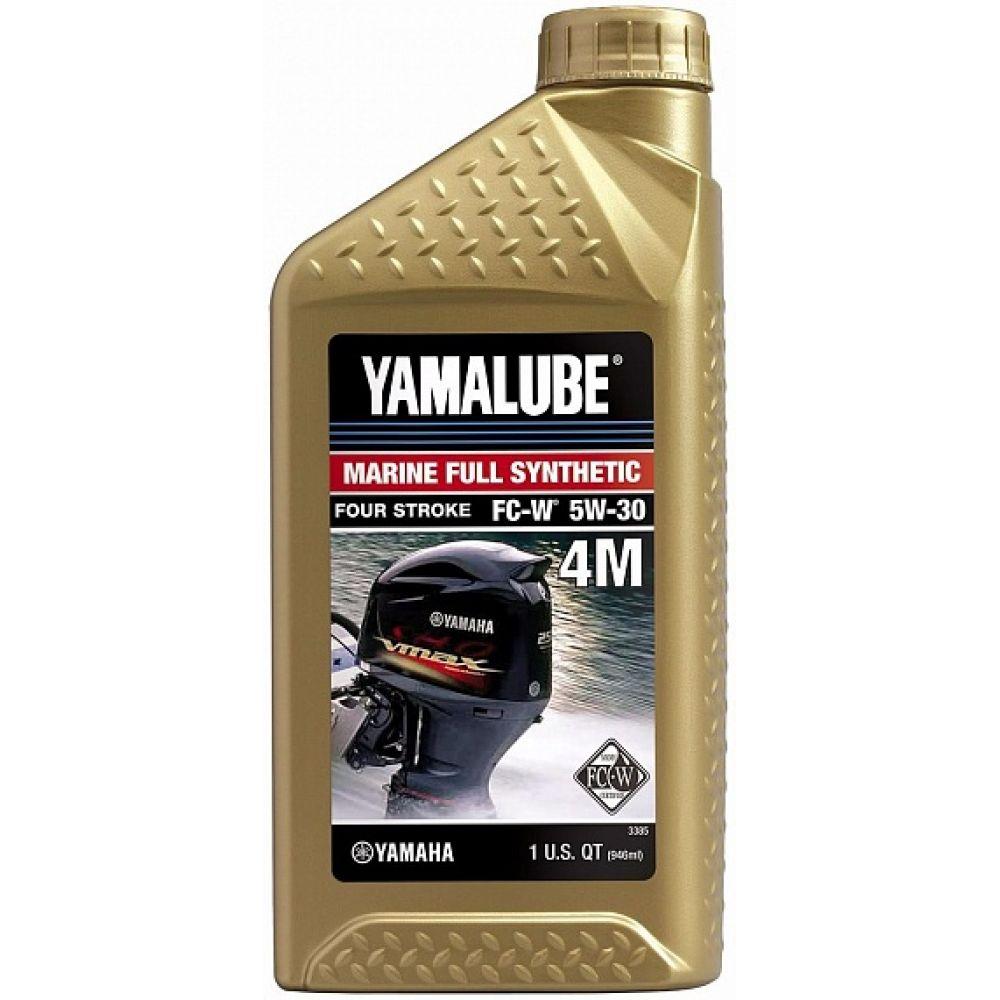 Моторное масло Yamaha YAMALUBE 4M 5W-30 Marine, 0,946л