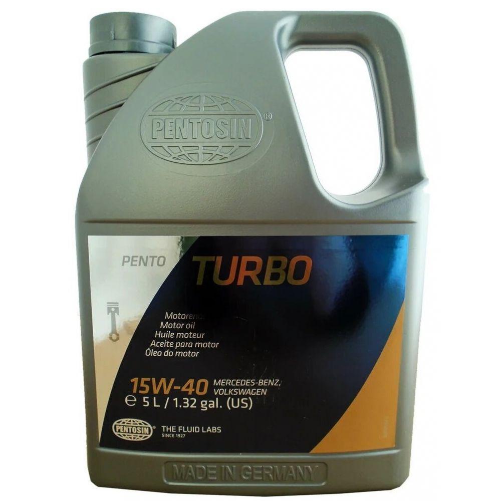 Моторное масло Pentosin Pentoturbo 15W-40, 5л