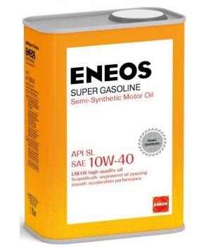 Моторное масло ENEOS Super Gasoline SL 10W-40, 1л