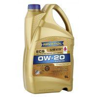 Моторное масло RAVENOL ECS EcoSynth SAE 0W-20, 5л