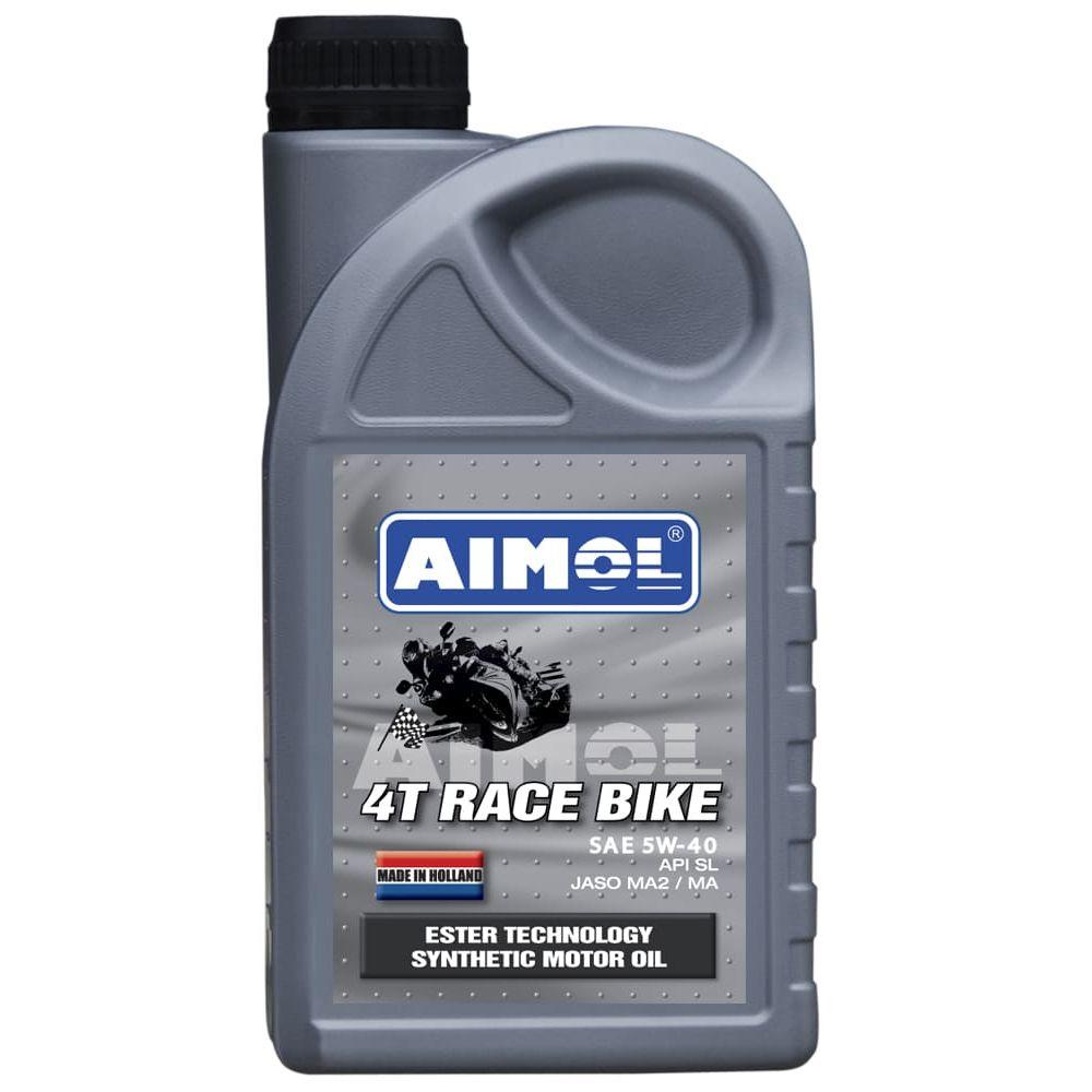 Моторное масло AIMOL 4T Racebike 5W-40, 1л