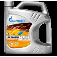 Моторное масло Gazpromneft Premium C3 5W-30, 4л