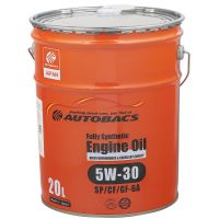 Моторное масло AUTOBACS Fully Synthetic 5W-30 SP/CF/GF-6A, 20л
