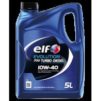 Моторное масло ELF Evolution 700 Turbo Diesel 10W-40, 5л
