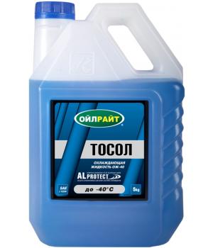 Охлаждающая жидкость OILRIGHT Тосол -40, 5кг