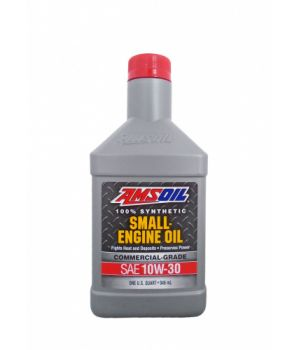 Моторное масло для малогабаритной тех-ки AMSOIL 100% Synthetic Small Engine Oil SAE 10W-30, 0.946л