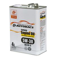 Моторное масло AUTOBACS Synthetic Engine Oil 5W-30 SN/GF-5, 4л