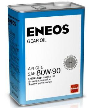 Трансмиссионное масло ENEOS Gear Oil GL-5 80W-90, 4л.