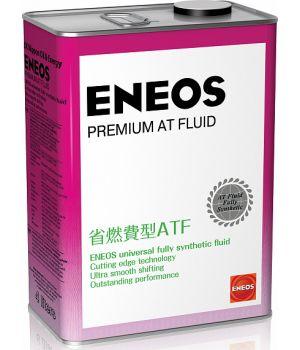Трансмиссионное масло ENEOS Premium AT Fluid, 4 л.