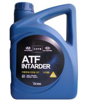 Трансмиссионное масло Hyundai/Kia ATF Intarder 75W-80, 4л