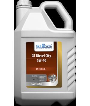 Моторное масло GT OIL GT Diesel City 5W-40, 6л