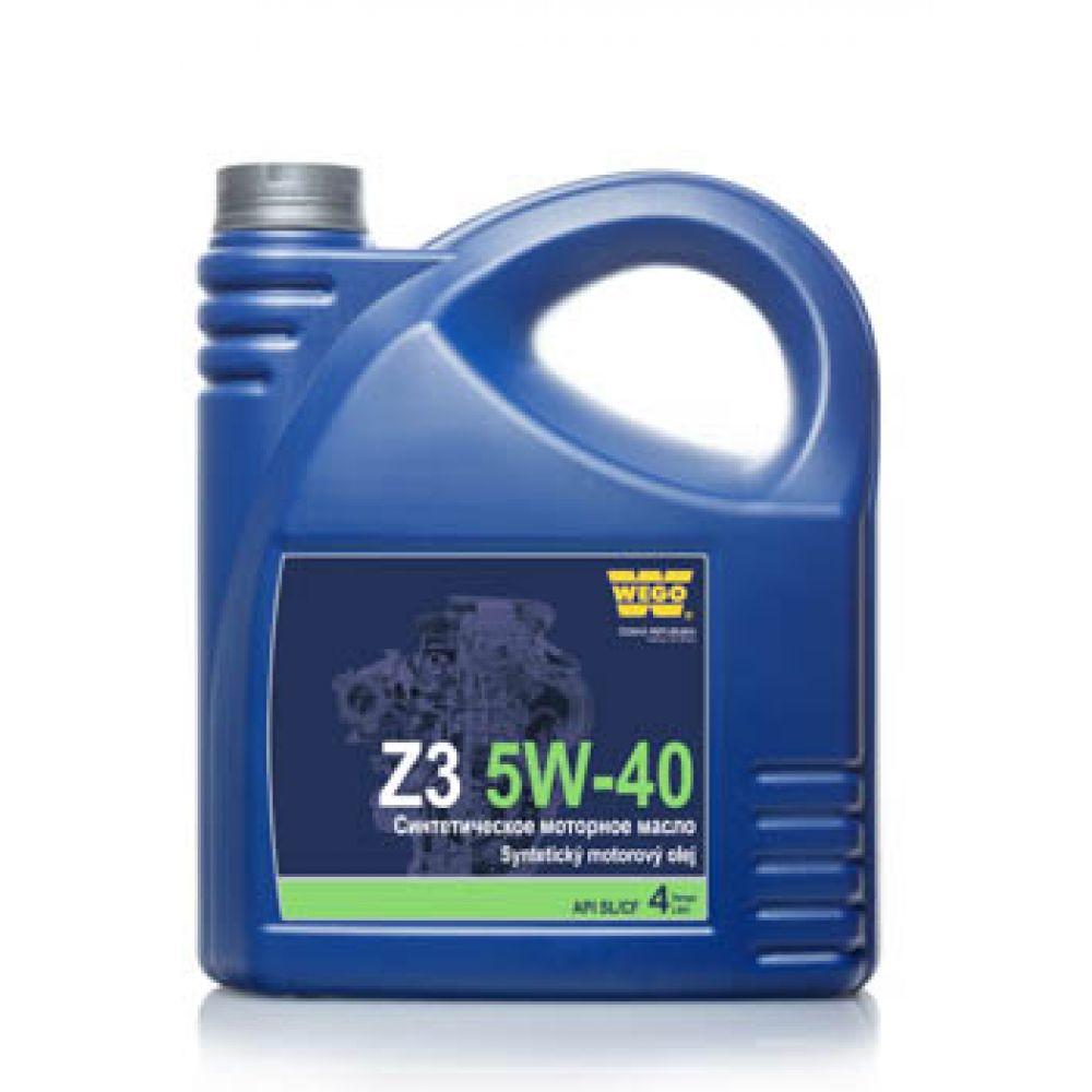 Моторное масло WEGO Z3 5W-40, 4л