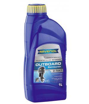 Моторное масло для 2Т лод.моторов RAVENOL Outboardoel 2T teilsynth. ( 1л) new