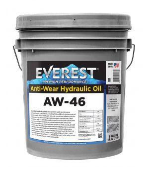 Гидравлическое масло Everest AW46 4000H, 19л