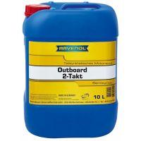 Моторное масло для 2Т лод.моторов RAVENOL Outboardoel 2T teilsynth. (10л) new