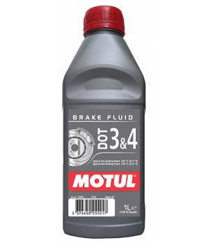 Тормозная жидкость MOTUL DOT 3&4 Brake Fluid, 1л