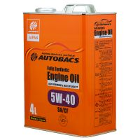 Моторное масло AUTOBACS Fully Synthetic 5W-40 SN/CF, 4л