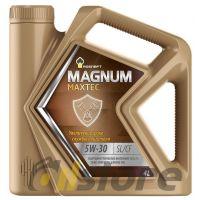 Моторное масло Rosneft Magnum Maxtec 5W-30 (РНПК), 4л