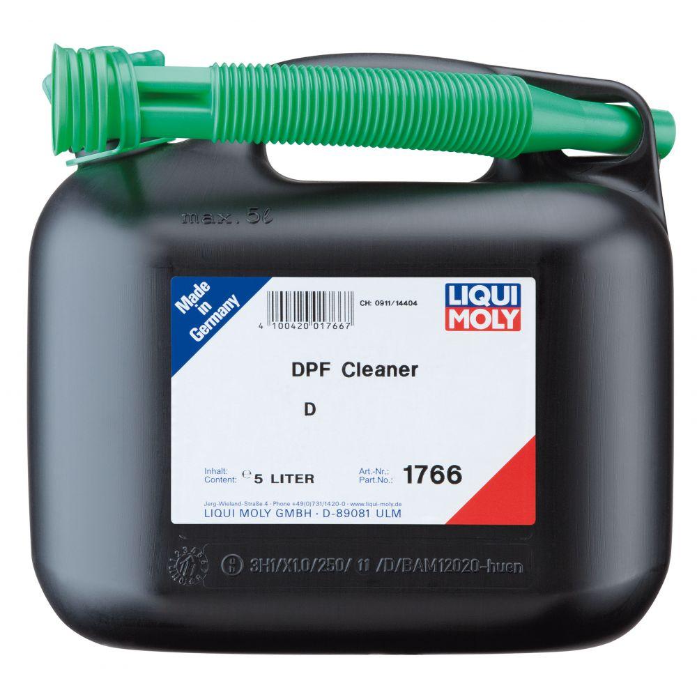 Очиститель сажевого фильтра LIQUI MOLY DPF Cleaner, 5л
