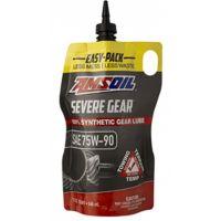 Трансмиссионное масло AMSOIL Severe Gear Synthetic Extreme Pressure (EP) Lubricant 75W-90, 0.946л (Easy-Pack)