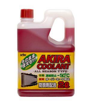 Антифриз Akira Coolant -50°C красный, 2л