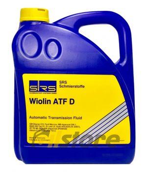 Трансмиссионное масло SRS Wiolin ATF D, 4л