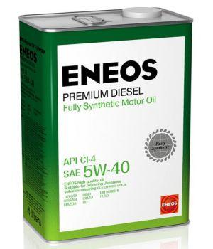 Моторное масло Eneos Premium Diesel 5W-40, 4л