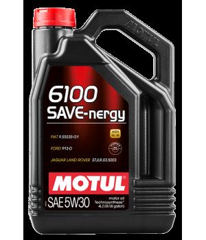 Моторное масло MOTUL 6100 SAVE-nergy 5W-30, 4л
