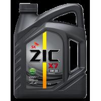 Моторное масло ZIC X7 Diesel 5W-30, 4л.