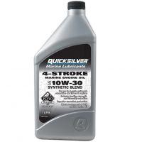 Моторное масло Quicksilver 4-Stroke Marine Engine Oil 10W-30, 0.946л