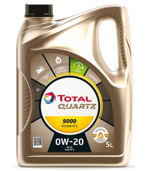 Моторное масло Total QUARTZ 9000 FUTURE GF5 0W-20, 5л