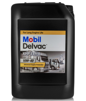 Моторное масло MOBIL Delvac XHP Extra 10W-40, 20л