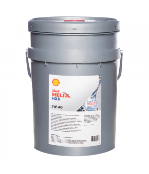 Моторное масло SHELL Helix HX8 Synthetic SAE 5W-40, 20л