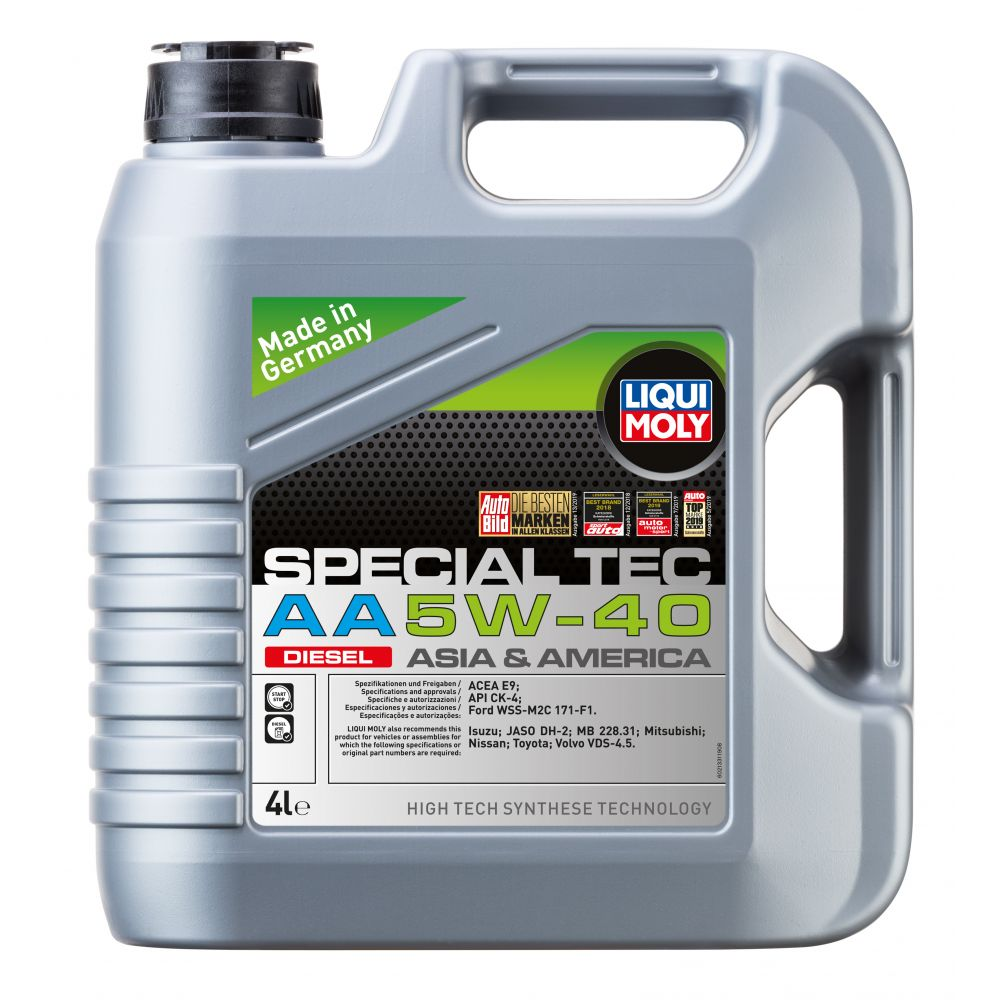 Моторное масло LIQUI MOLY НС Special Tec AA Diesel 5W-40, 4л