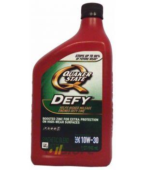 Моторное масло QUAKER STATE Defy SAE 10W-30 (0,946л)