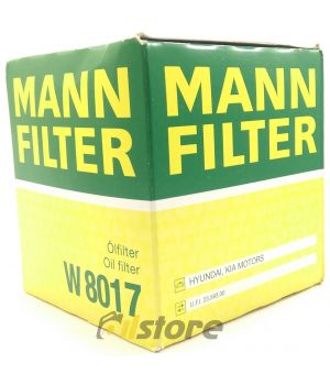 Масляный фильтр MANN-FILTER W 8017
