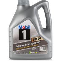 Моторное масло Mobil 1 0W-20, 4л