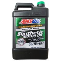 Моторное масло AMSOIL Signature Series Synthetic Motor Oil 0W-20, 3,78л