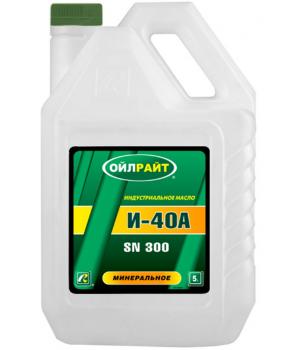 Индустриальное масло OILRIGHT И-40А, 5л