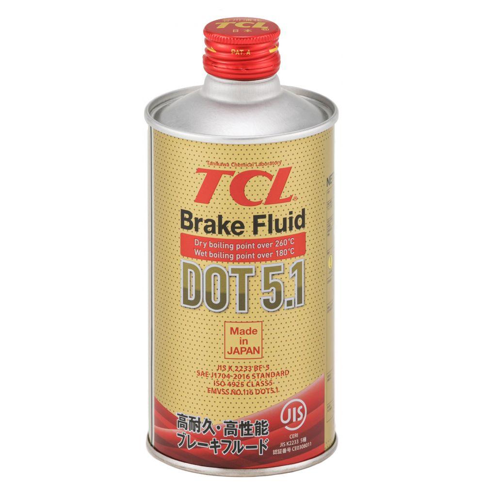 Тормозная жидкость TCL DOT 5.1, 0.355л