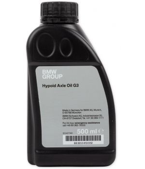 Трансмиссионное масло BMW Hypoid Axle G3 70W-80, 0.5л