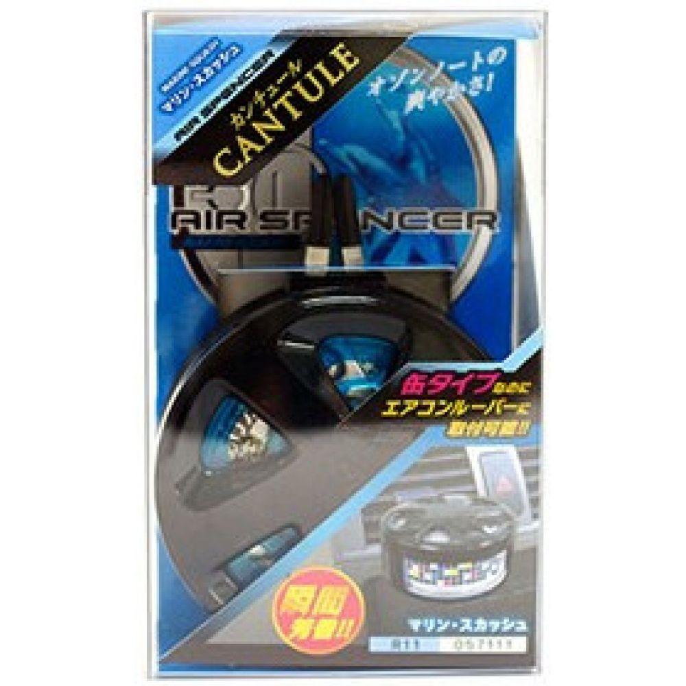 Ароматизатор EIKOSHA меловой Spirit Refill, холдер Air Spencer Cantule - MARINE SQUASH (набор),